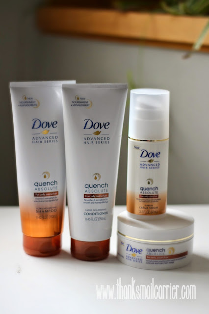 Dove Quench Absolute products