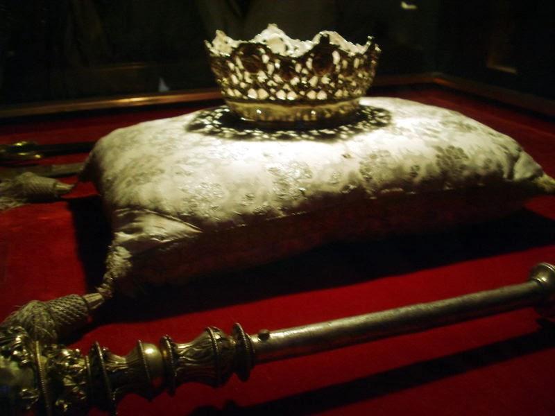 Corona y cetro de Isabel La Católica