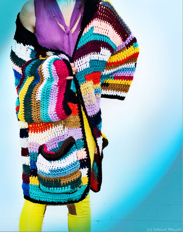 Psynopsis Vintage Crochet Coat by Vintage Vixen