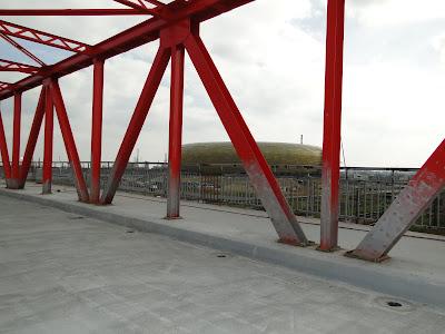 wykratowanie mostu wiaduktu