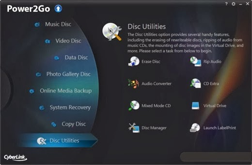 CyberLink Power2Go Platinum v9.0.1601.0