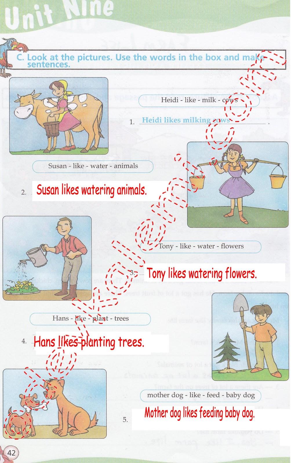 Sinif ingilizce çalışma kitabı cevapları sayfa 42 pasifik