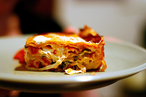 smitten kitchen s take on thousand layer lasagne with