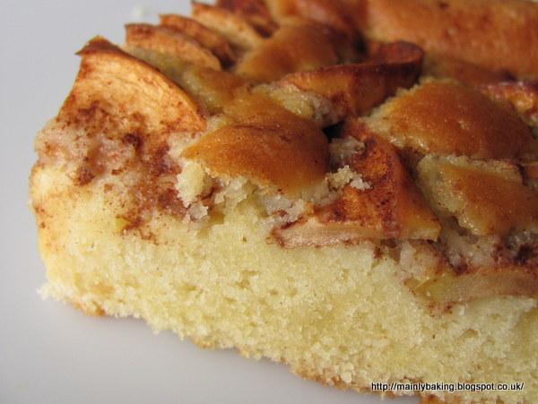 Mainly Baking Norwegian Apple Cake Eplekake