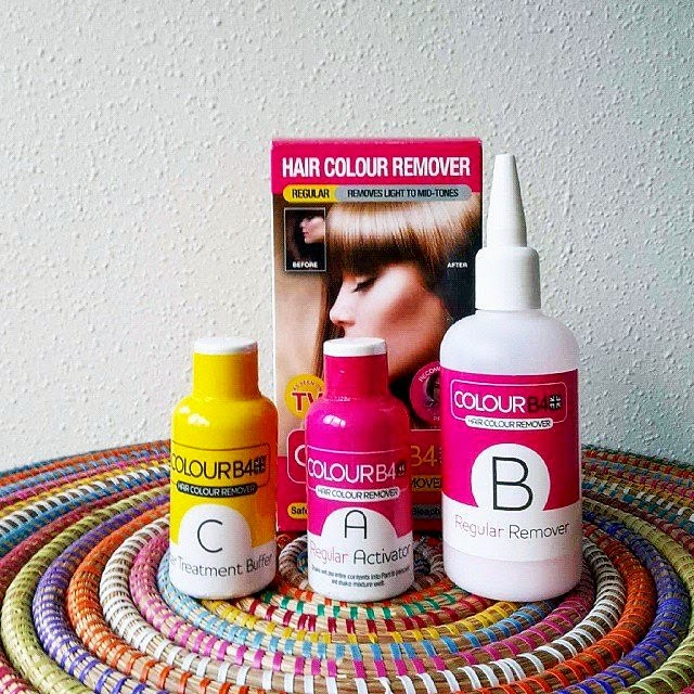 colour b4 est une dcoloration maison pour cheveux colors dont les revendications sont trs fortes gommer toute trace de coloration retrouver sa couleur - Coloration Monoprix