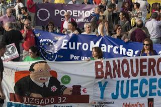 Las Euromarchas abren las movilizaciones de un otoño marcado por la campaña electoral