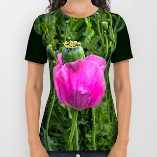 gunadesign guna andersone T shirt poppy