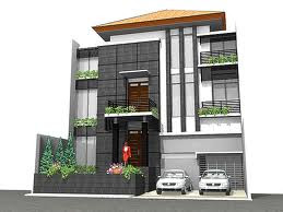 Denah Rumah 3 Lantai
