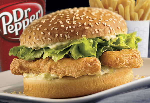 Frugal darling fish sandwich combo at jack in the box for Jack in the box fish