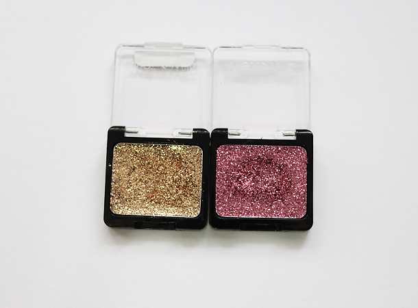 wet'n'wild color icon glitter eyeshadow singles brass groupie