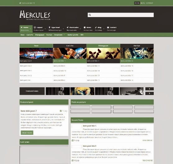 Hercules – Responsive Sport Magazine Theme