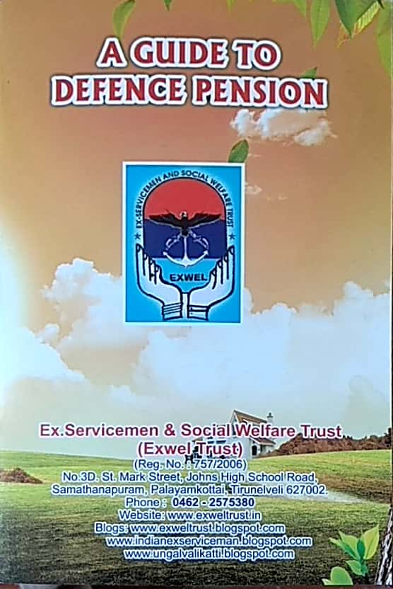 A BOOK ON DEFENCE PENSION