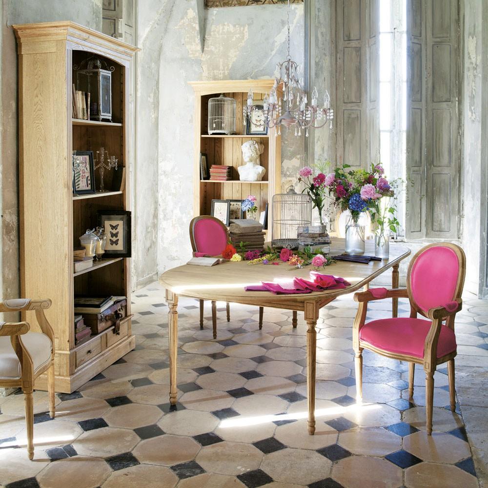 Boiserie c legno stile antica dimora di campagna - Mobili maison du monde opinioni ...