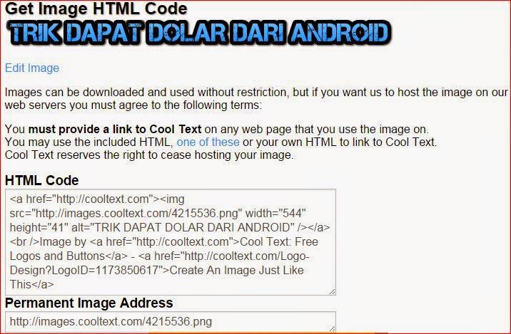 Copy Kode HTML
