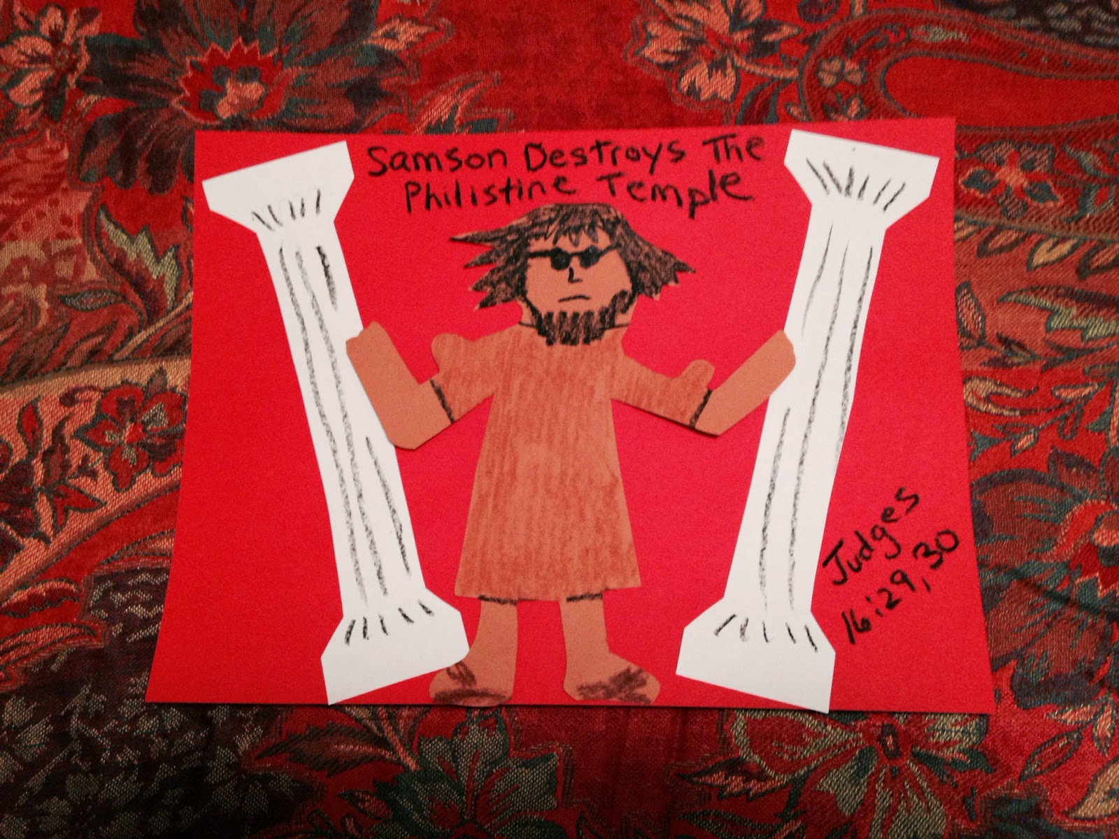 image gallery of samson and delilah for kids