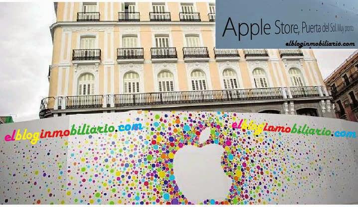 Apple Store tienda Puerta del Sol elbloginmobiliario.com