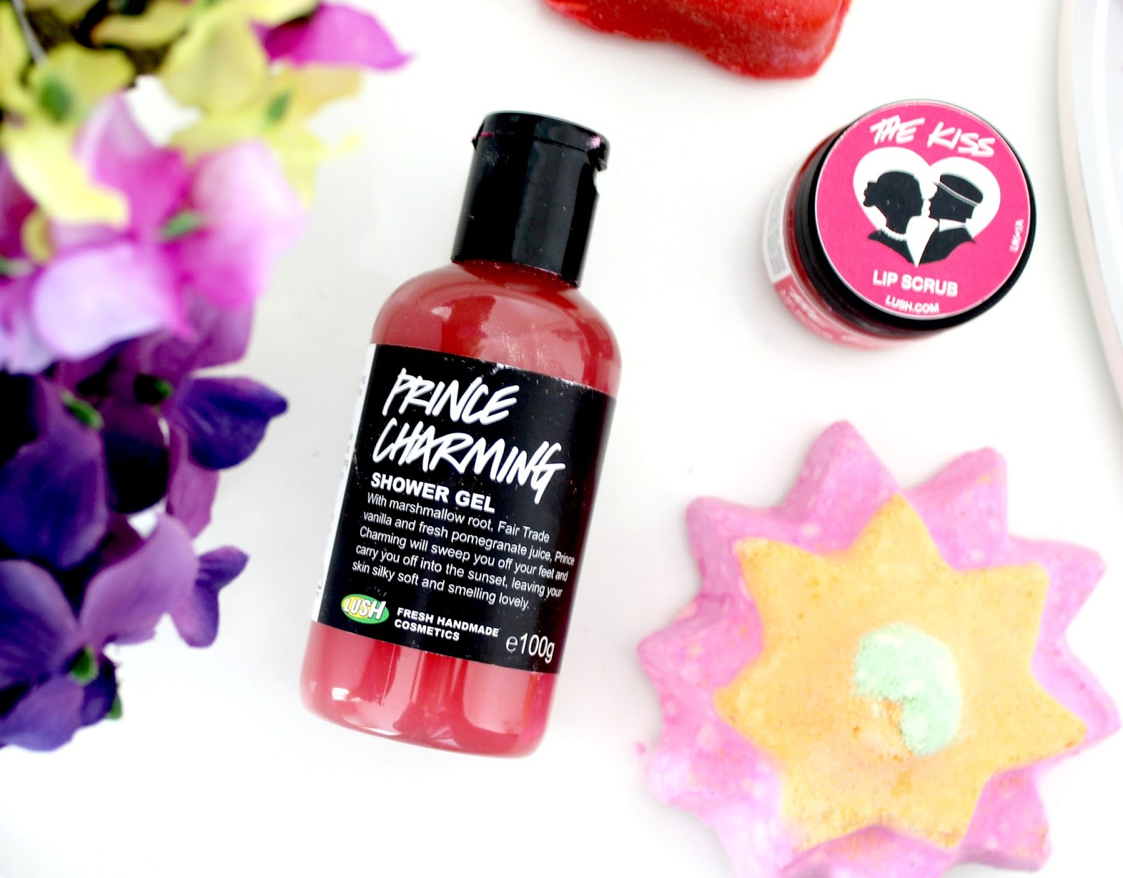 LUSH Valentines Day Collection, LUSH Bath Products, LUSH Limited Edition Valentine's Collection