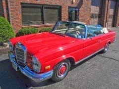 We service new and vintage Mercedes-Benz