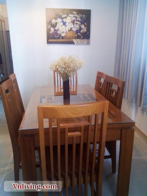 Dinner Table at Imperia Apartment 2 Bedroom For Rent