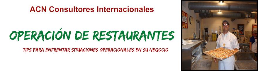 Operación de restaurantes