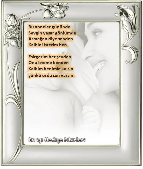 Anneler Günü için kısa şiirler resimli