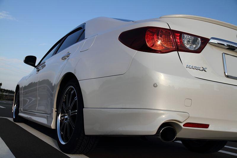 Toyota Mark X, X130, japoński samochód, sedan, tuning, 日本車, チューニングカー, トヨタ