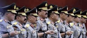 Daftar Perwira Menegah POLRI yang di MUTASI