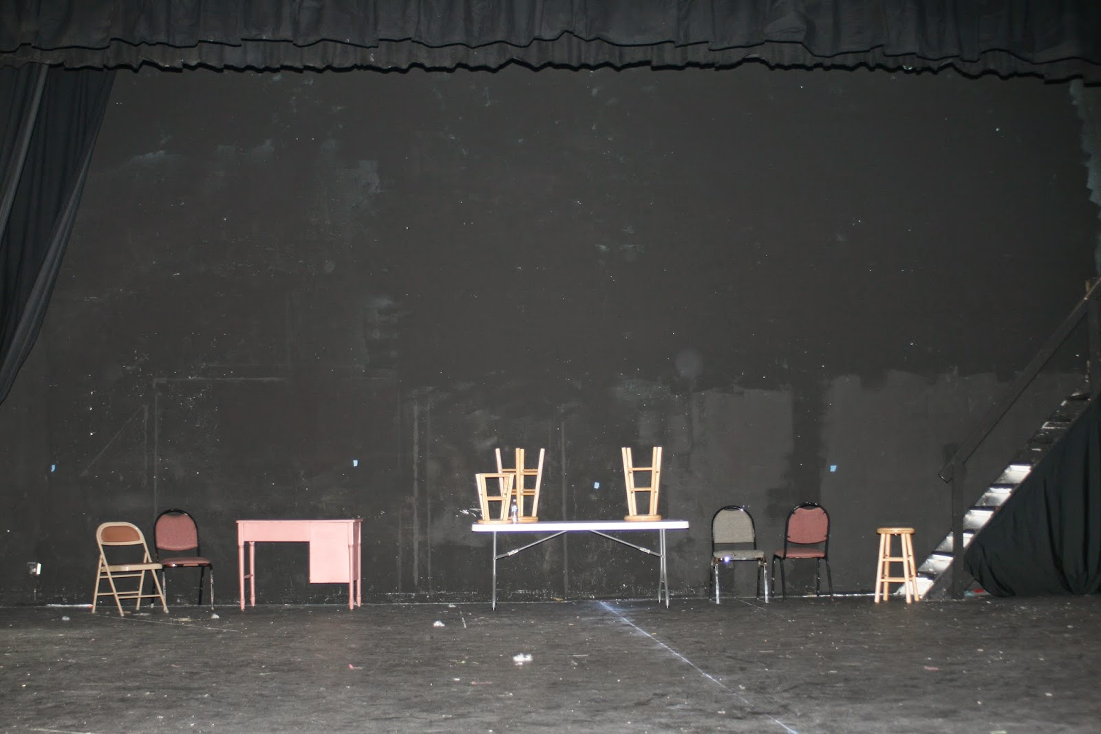 It Starts With An Empty Stage
