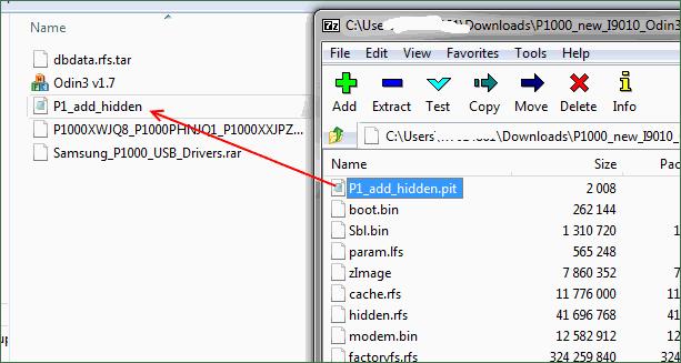samsung gt-p1000 galaxy tab software