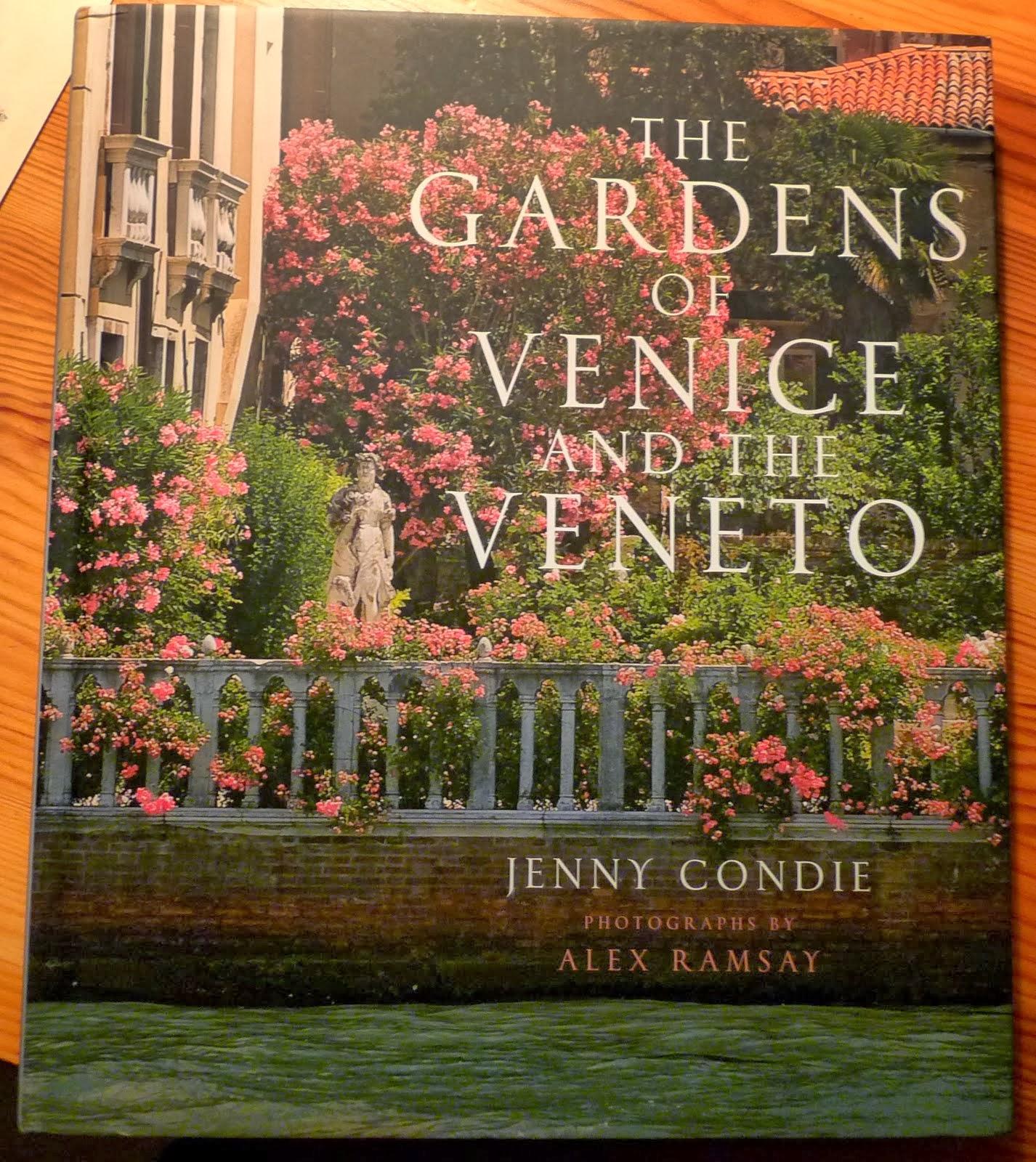 Mes carnets v nitiens nouveau livre sur les jardins de venise for Le jardin secret livre