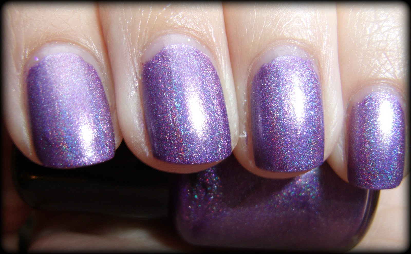 Obsessive Cosmetic Hoarders Unite!: KleanColor Chunky Holo Purple ...