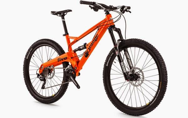 Orange Bikes 2015 Five S