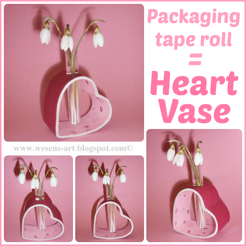 PackagingRollHeartVase wesens-art.blogspot.com