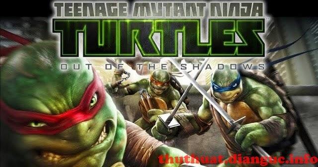 Download game Huyền thoại Ninja rùa PC 2013