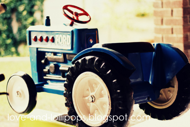 Tractor Cake Children S Birthday