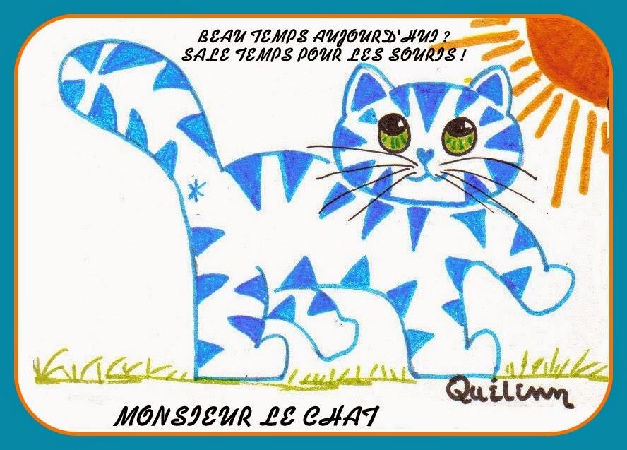 aphorisme nul, dessin de chat