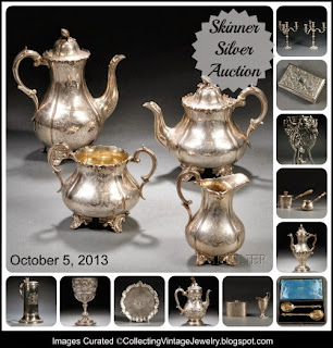 Skinner Fine Silver to be auctioned in Boston on Octoer 5