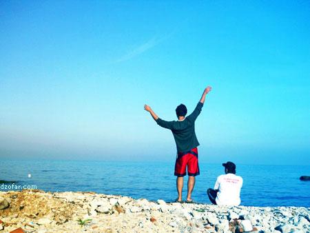 Pemandangan Pantai Bondo yang Indah
