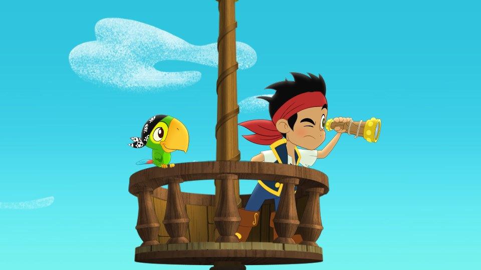 Jake Y Los Piratas De Nunca Jamas - CU0501 | Regalá tu foto