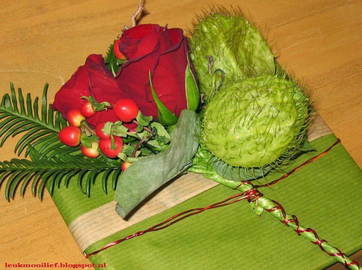 Leuk Mooi Lief: Cadeau corsage met roosjes