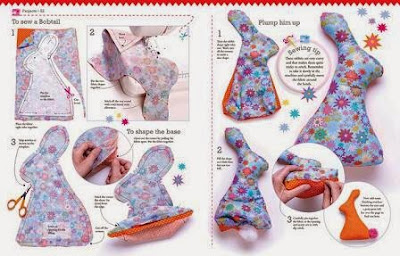 Jane Bull's Get Set, Sew sample instructions