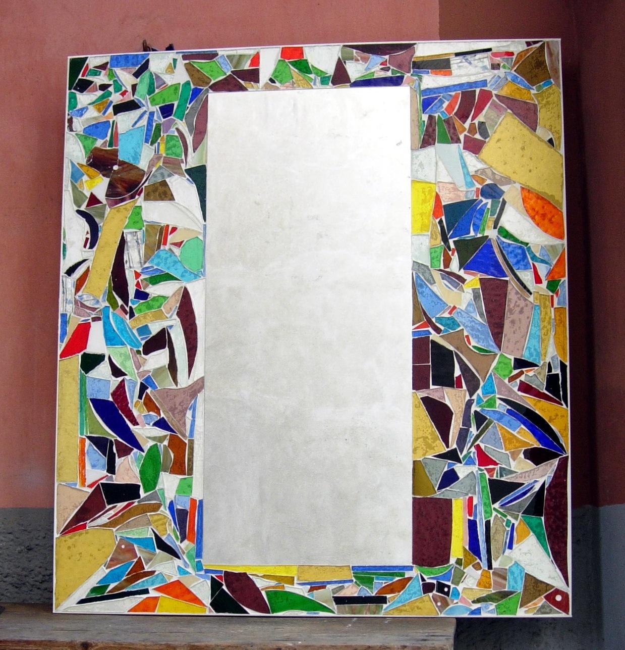 Oriani maurizio specchio - Specchio mosaico vetro ...