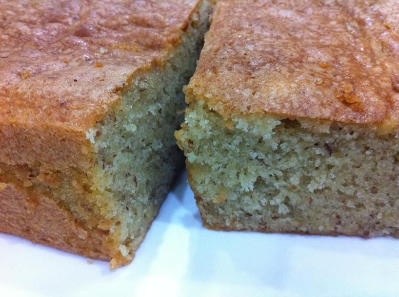 Baking Diary: Almond Butter Cake