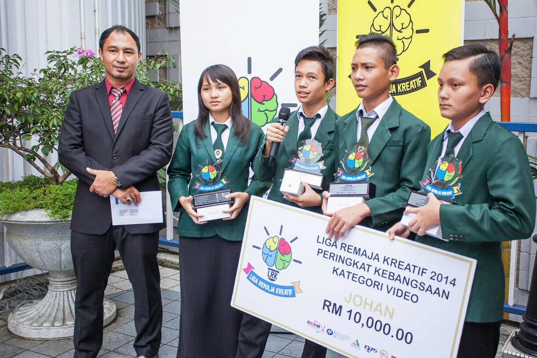 Johan Liga Remaja Kreatif 2014 Peringkat Kebangsaan
