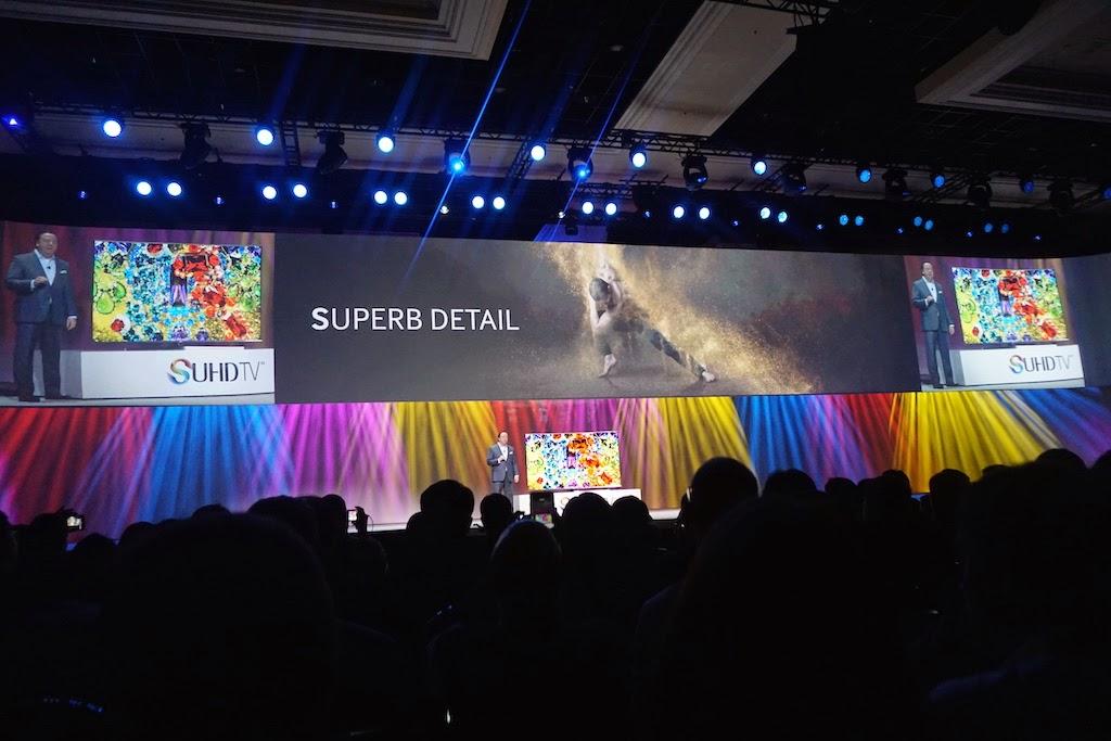 CES 2015 Samsung trình diễn SUHD TV siêu nét