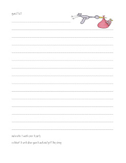 Baby Shower Planner Pages