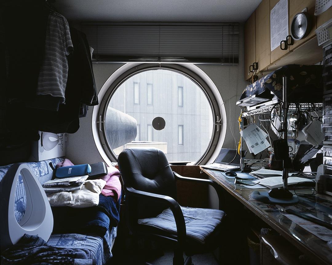 Doctor Ojiplático. Noritaka Minami. 1972 (Nakagin Capsule Tower de Kisho Kurokawa).Photography | Architecture