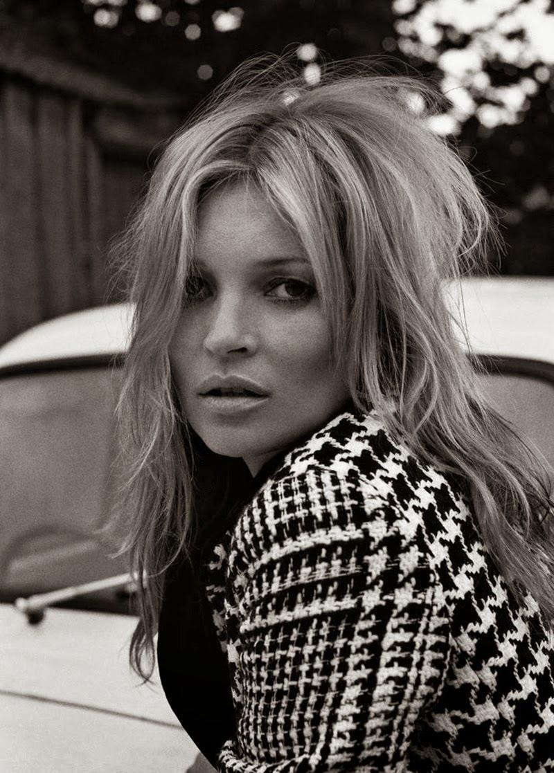Kate Moss PonyStep Magazine
