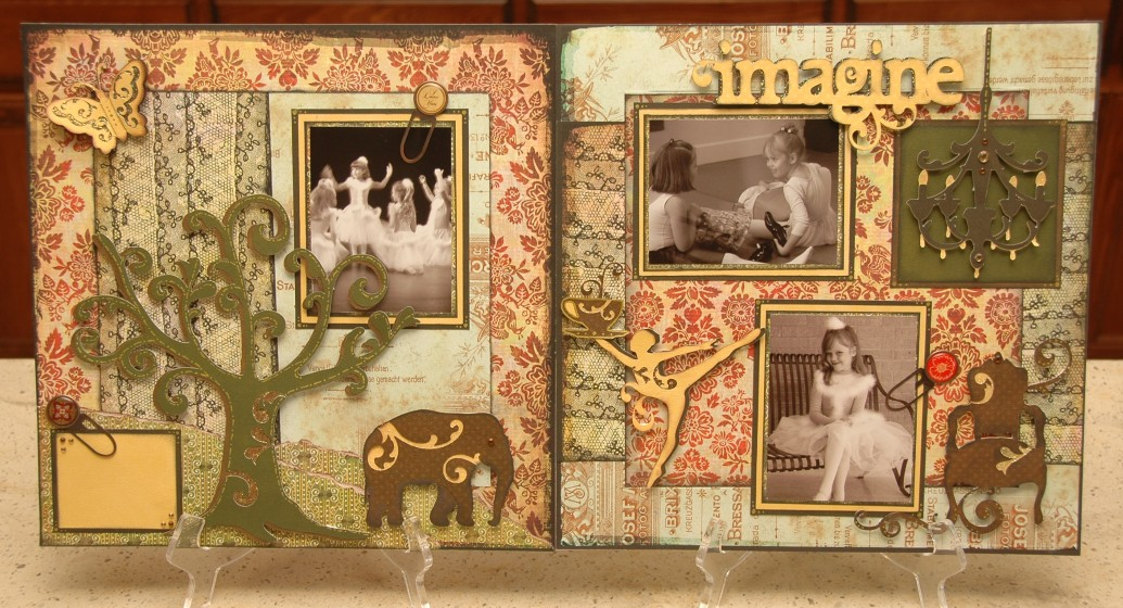 Dreamy 'Imagine' Layout Kit