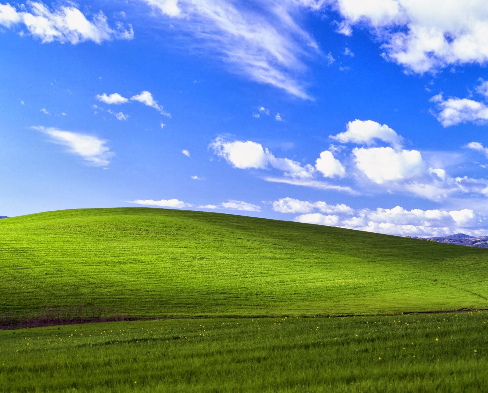 "Shooting Film: How ""Bliss"", the Windows XP default wallpaper was shot?"